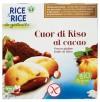 Biscotti di riso cuor al cacao 6x33g RICE&RICE
