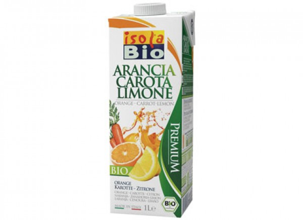 Arancia carota limone drink 1L ISOLABIO