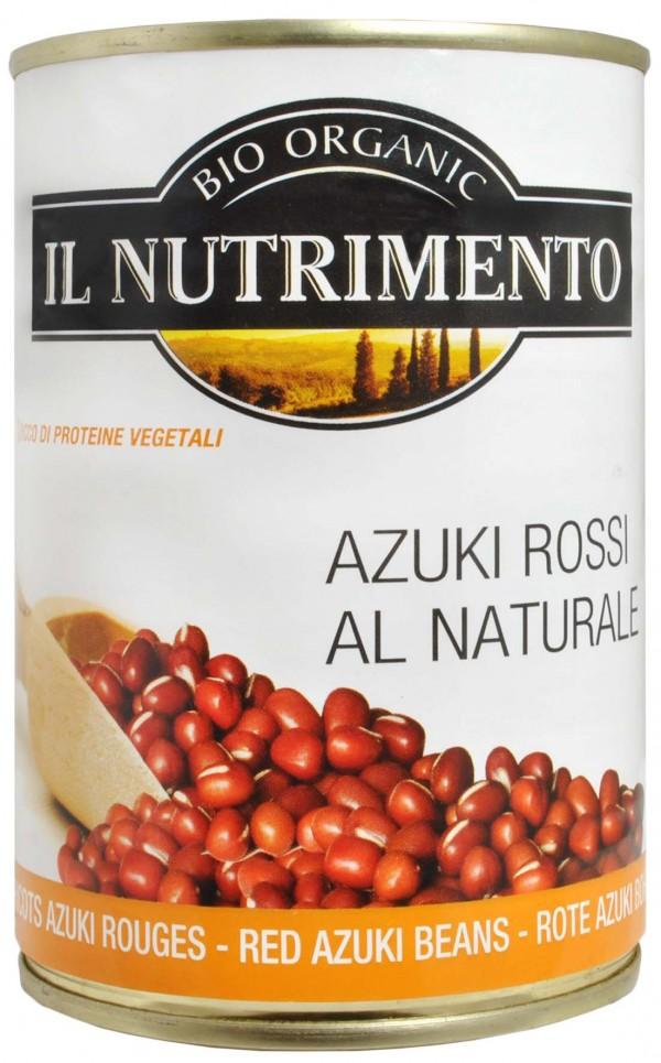 Azuki rossi al naturale 400g IL NUTRIMENTO