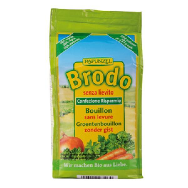 Brodo vegetale in polvere senza lievito aggiunto - ecoricarica 500g RAPUNZEL