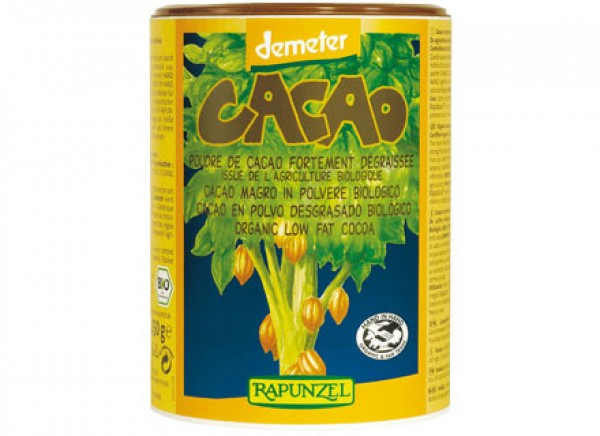 Cacao magro in polvere 250g RAPUNZEL