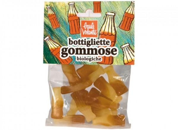 Caramelle bottigliette gommose alla cola 75g BAULE VOLANTE