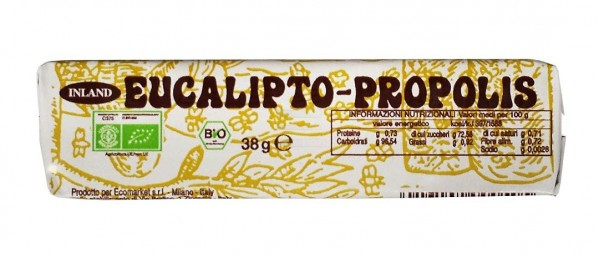 Caramelle eucalipto propolis 38g INLAND