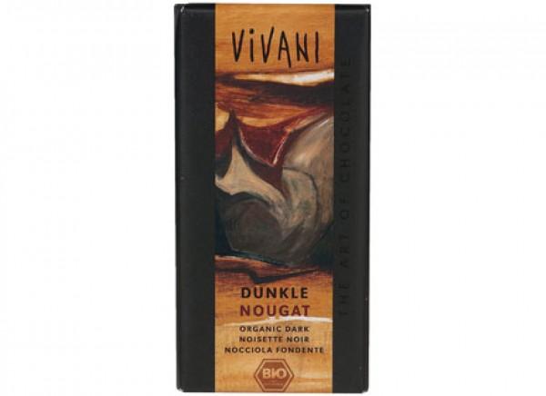 Cioccolato fondente alle nocciole 100g VIVANI