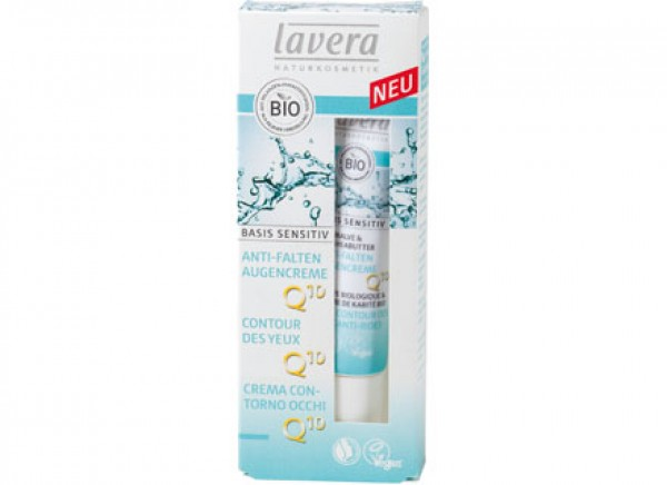 Contorno occhi anti age Q10 - Basis sensitiv 15ml LAVERA