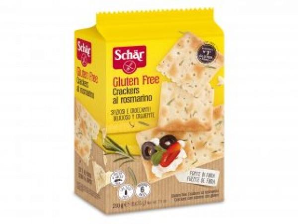 Crackers al Rosmarino senza glutine 6x35g SCHAR