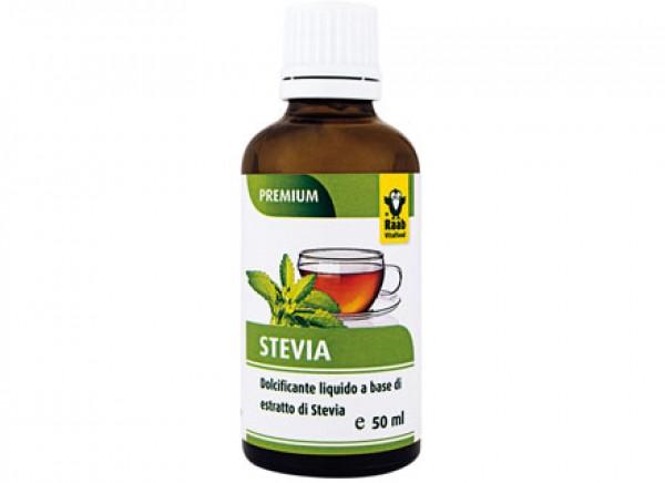 Dolcificante a base di estratto di Stevia liquido 50ml RAAB