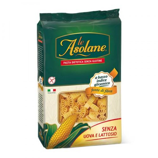Farfalle di mais senza glutine senza uovo e lattosio 250g Le Asolane