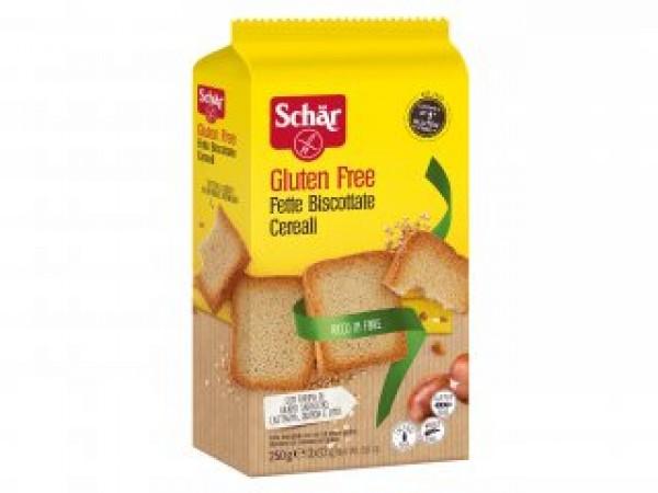 Fette Biscottate ai Cereali senza glutine 3x83g SCHAR