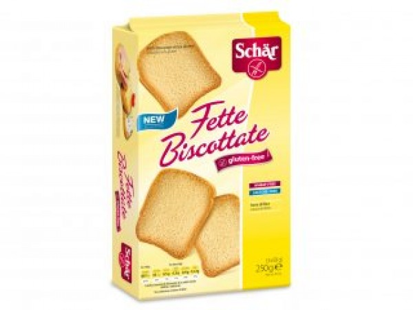 Fette Biscottate senza glutine 3x83g SCHAR