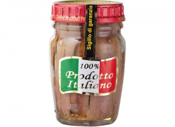 Filetti di acciughe in olio extravergine di oliva 80g IASA