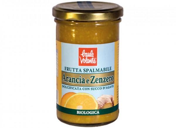 Frutta Spalmabile arancia e zenzero 280g BAULE VOLANTE