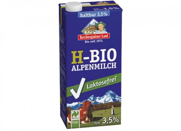 Latte intero UHT delattosato (<0,1%) 1L BERCHTESGADENER LAND