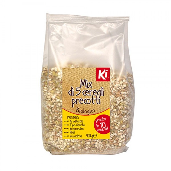 Mix 5 cereali precotti 400g KI