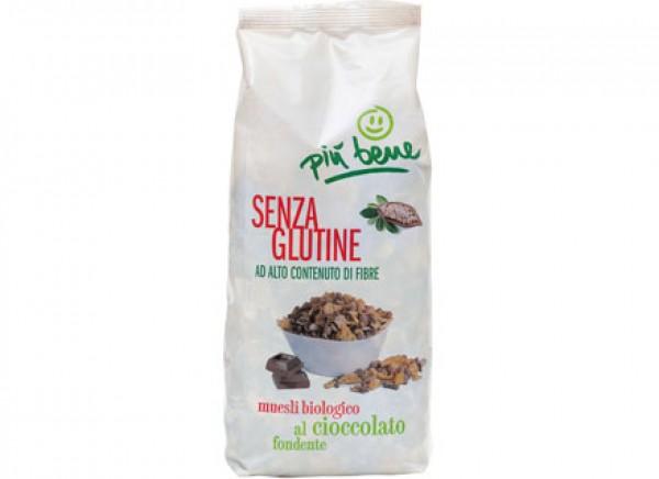 Muesli al cioccolato fondente 300g PIU' BENE