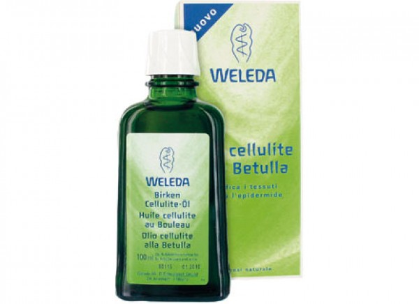 Olio anti cellulite naturale alla betulla 100ml WELEDA