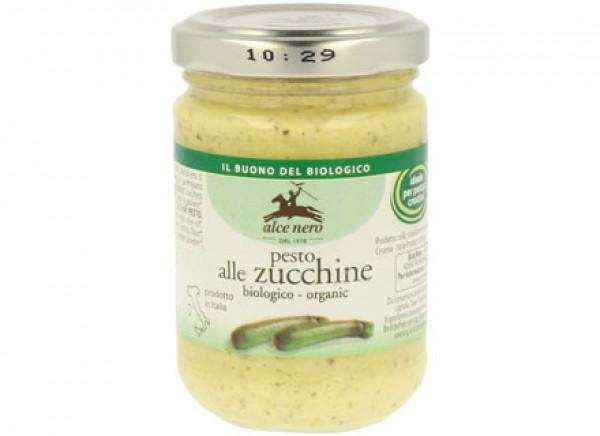 Pesto alle zucchine biologico 130g ALCE NERO