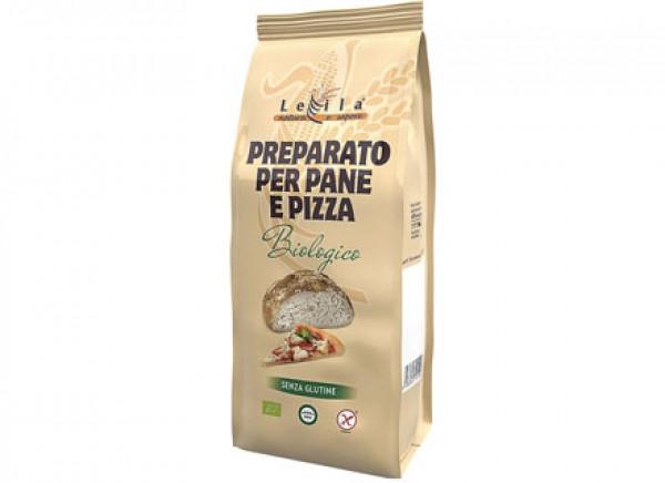 Preparato per pane e pizza senza glutine 500g LEILA