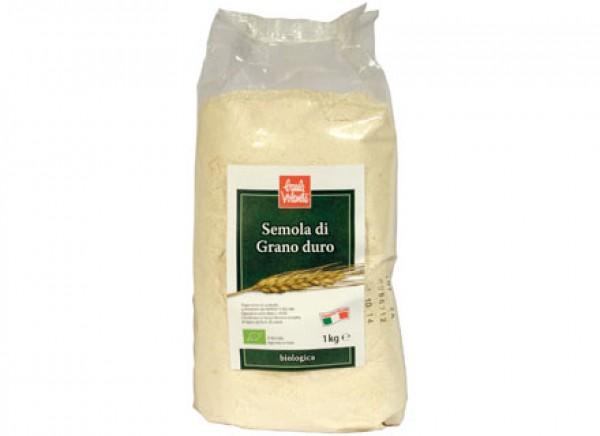 Semola di grano duro 1kg BAULE VOLANTE