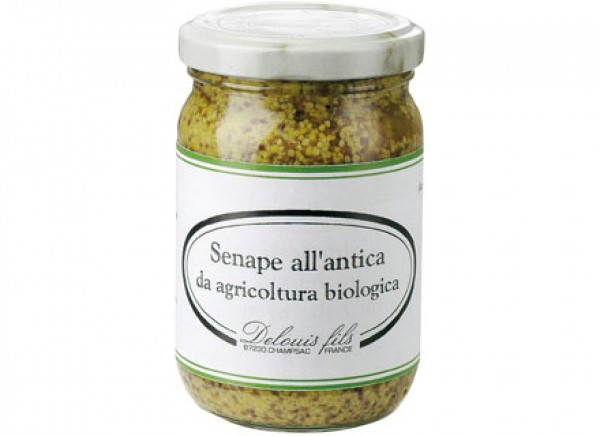 Senape all'antica con semi interi 200g DELOUIS