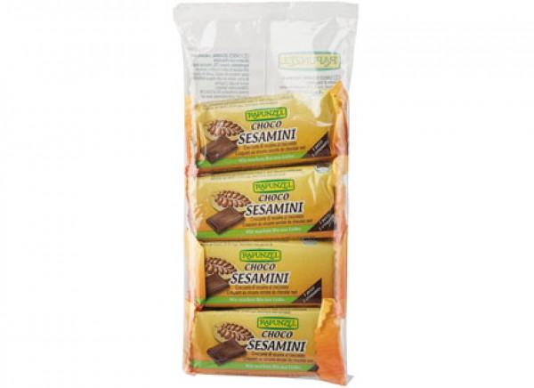 Sesamini multipack al Cioccolato 4x27g RAPUNZEL