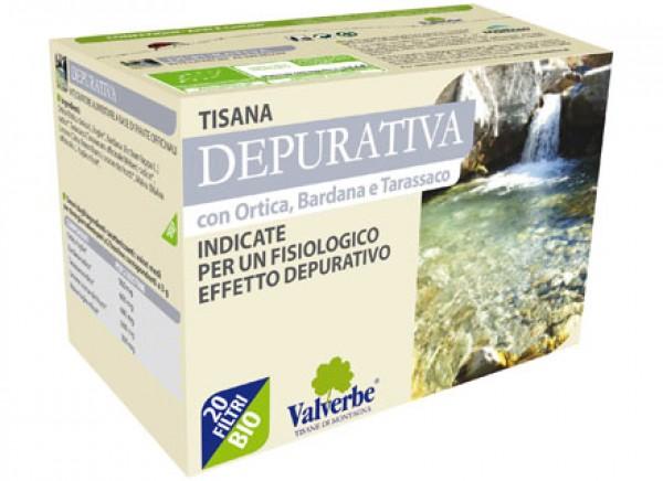 Tisana depurativa 30g VALVERBE