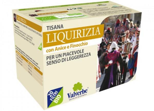Tisana liquirizia 40g VALVERBE