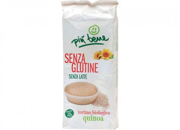 Tortino alla quinoa 4x45g PIU' BENE