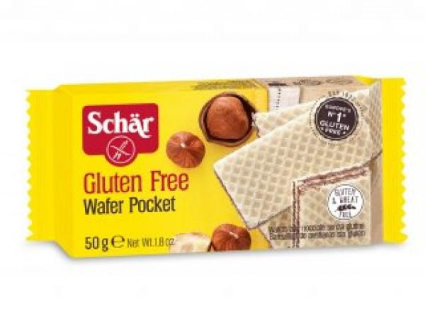 Wafer Pocket senza glutine 50g SCHAR