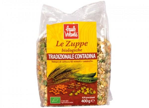 Zuppa tradizionale contadina 400g BAULE VOLANTE