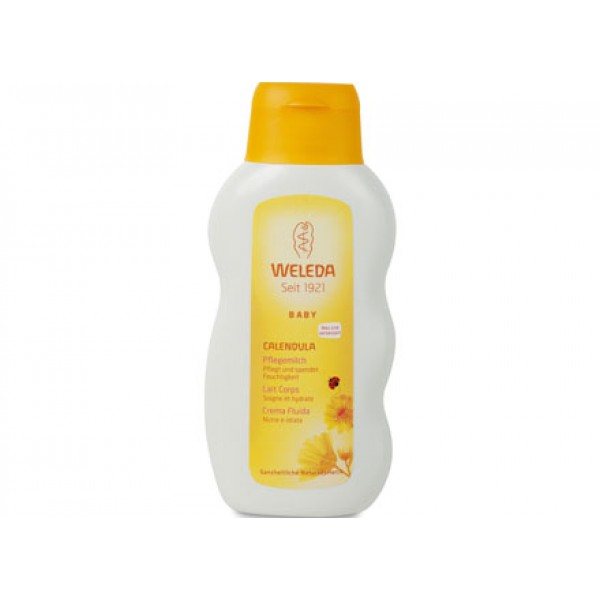 Baby - Crema fluida alla Calendula 200ml WELEDA