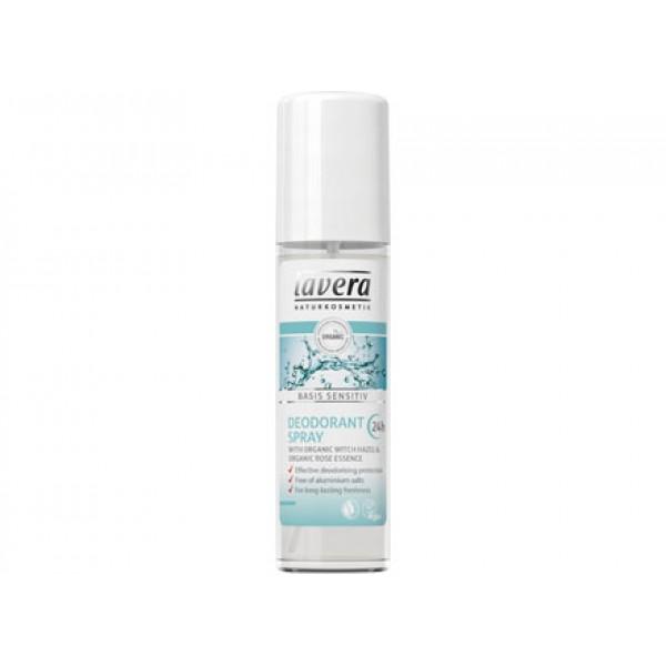Basis sensitiv - Deodorante spray 75ml LAVERA