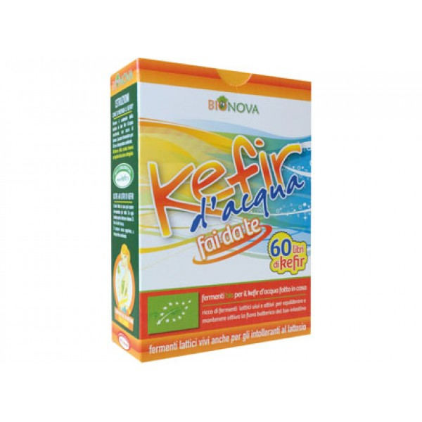 Biostarter per kefir d'acqua 4x5g BIONOVA