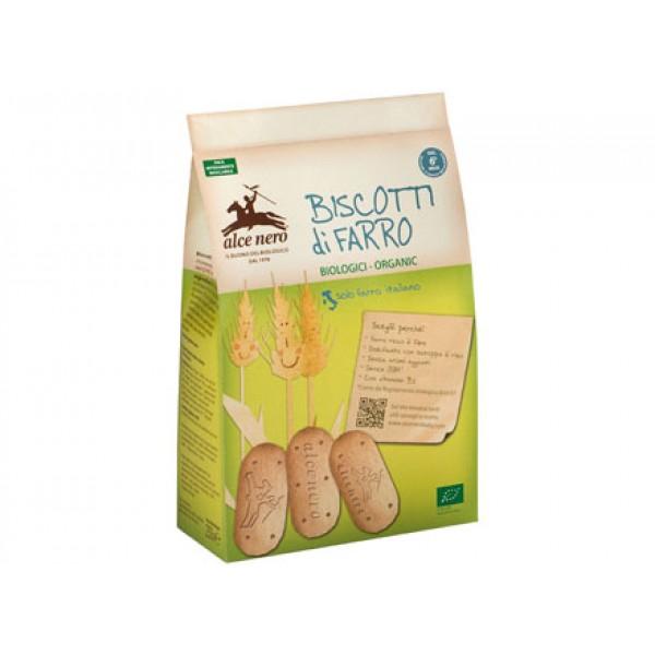 Biscotti di farro biologici per bambini 250g ALCE NERO