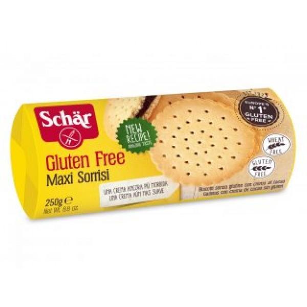 Biscotti Sorrisi senza glutine 105g SCHAR