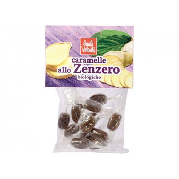 Caramelle allo Zenzero 50g BAULE VOLANTE
