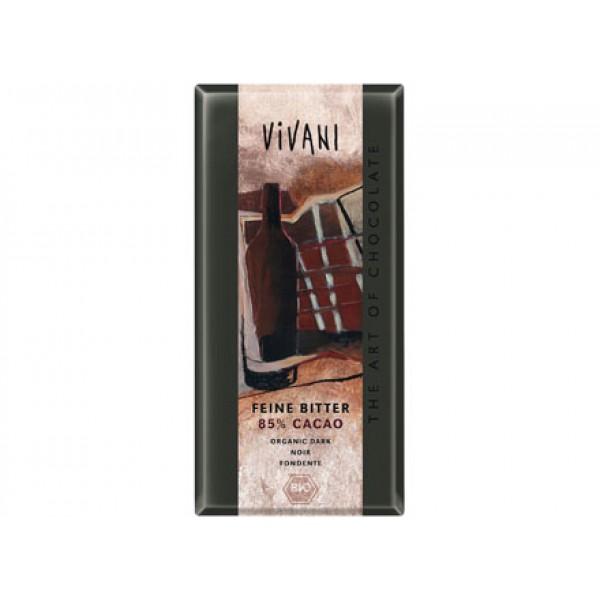 Cioccolato fondente 85% 100g VIVANI