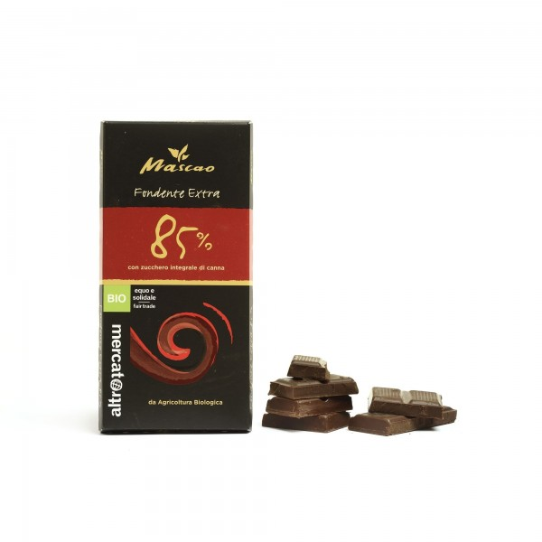 Cioccolato Mascao fondente extra 85% 100g CTM-ALTROMERCATO