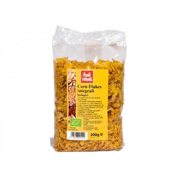 Corn flakes integrali senza zucchero 200g BAULE VOLANTE