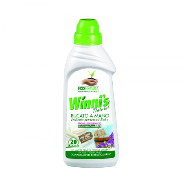 Detersivo per bucato a mano 750ml WINNI'S