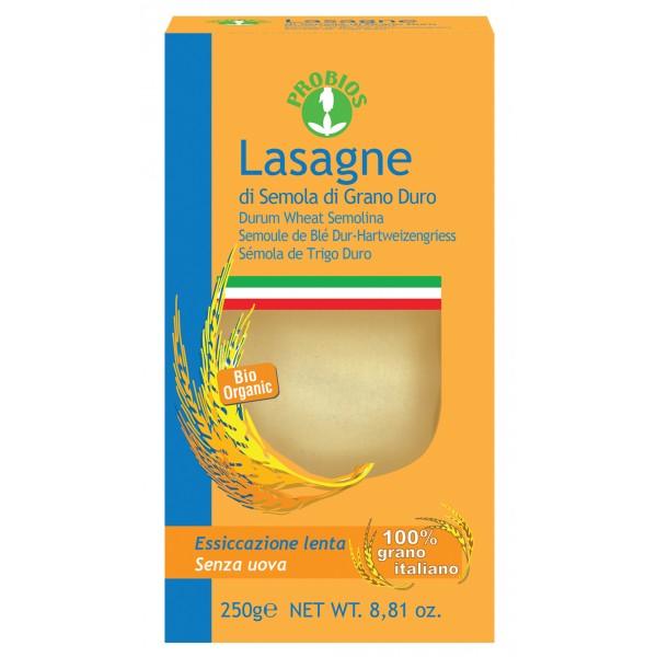 Lasagne di frumento bianca 250g PROBIOS