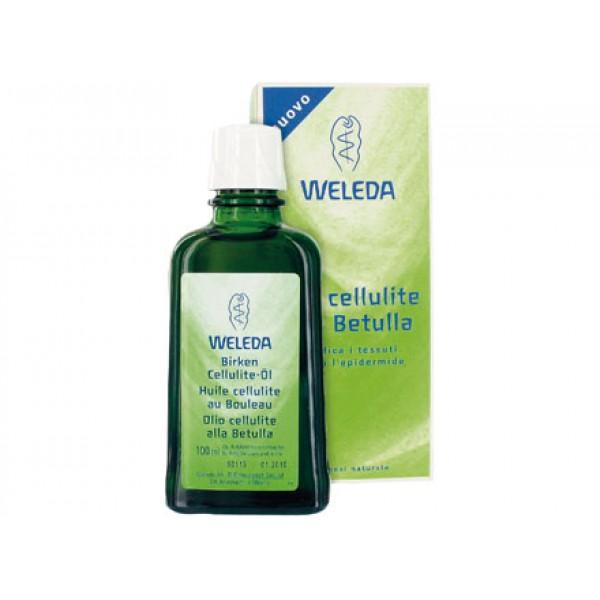 Olio anti cellulite naturale alla betulla 100ml WELEDA
