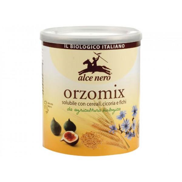 Orzomix solubile con cereali, cicoria e fichi 125g ALCE NERO