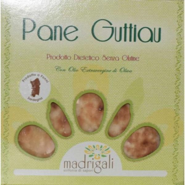 Pane Guttiau senza glutine 150g MADRIGALI