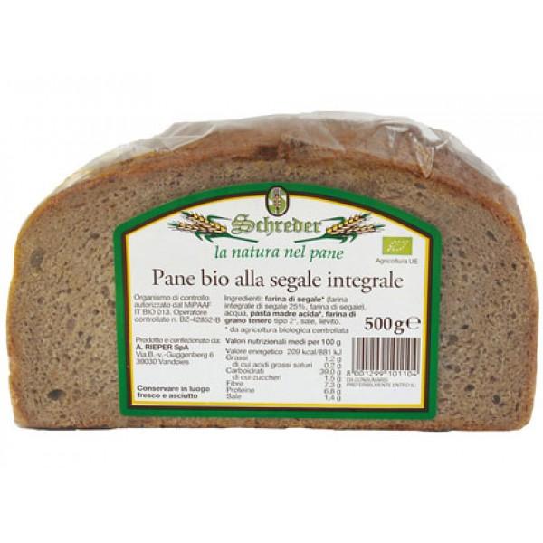 Pane integrale di segale 500g SCHREDER