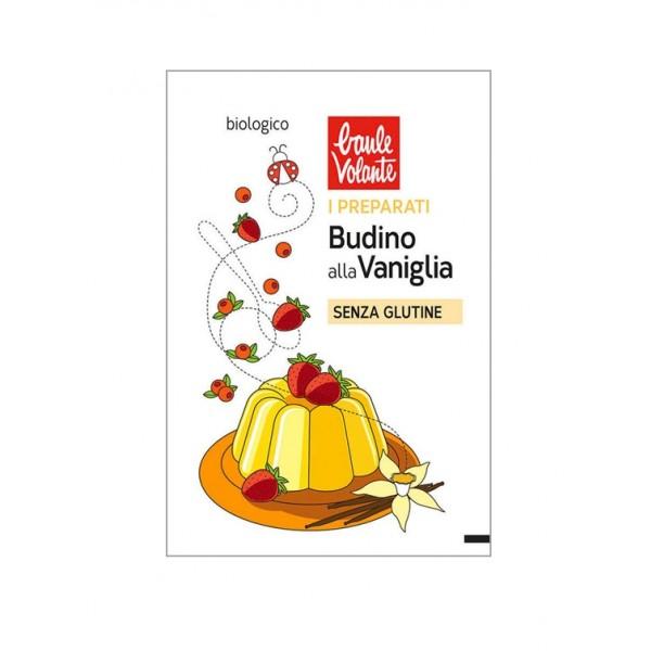 Preparato in polvere per Budino alla Vaniglia Vegan Senza Glutine 31g BAULE VOLANTE