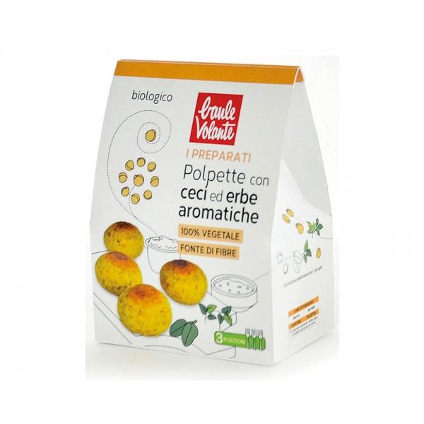 Preparato per polpette con ceci ed erbe aromatiche Vegan 180g Baule Volante