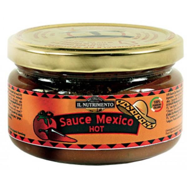 Salsa messicana hot - piccante - senza glutine 180g IL NUTRIMENTO