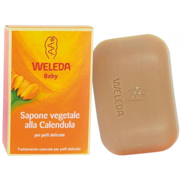 Sapone vegetale alla Calendula 100g WELEDA