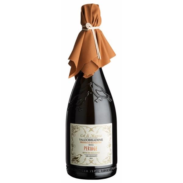 Vino bianco Col di Manza Valdobbiadene Prosecco Superiore DOCG Extra Dry Millesimato 750ml